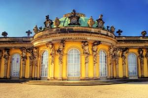 """ארמון המלך פרידריך """"סן סוסי"""""""