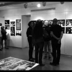 לפני הקונצרט בתערוכה