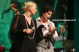 דנה דבורין ואיציק כהן פטילון בג'אז חם לילדים