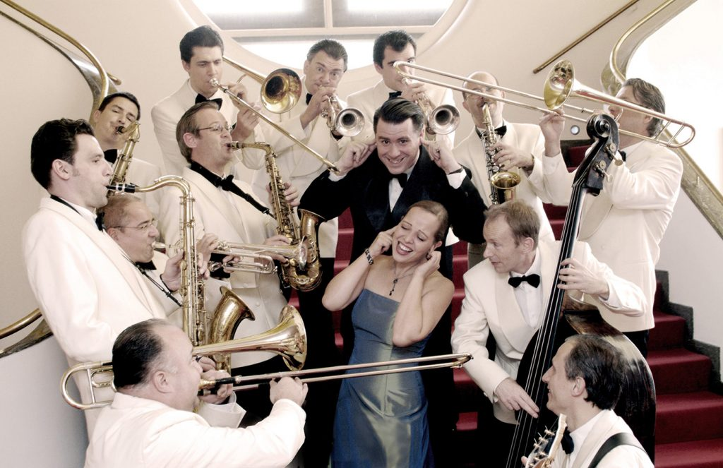 The Swing Dance Orchestra photo by Uwe Hauth