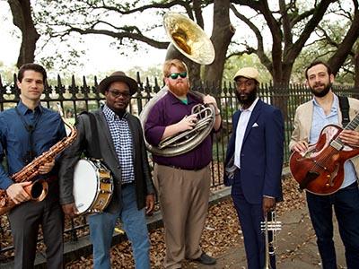 סקסופון הזהב של הנשיא - מחווה ללסטר יאנג עם Soul Brass Band (ניו אורלינס)
