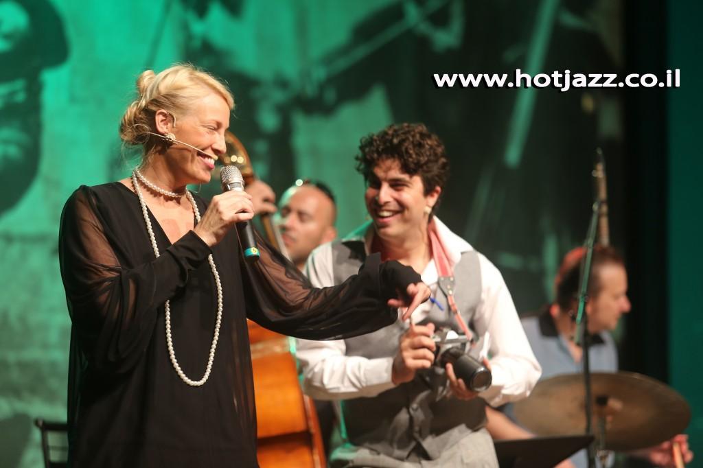 דנה דבורין בג'אז חם לילדים