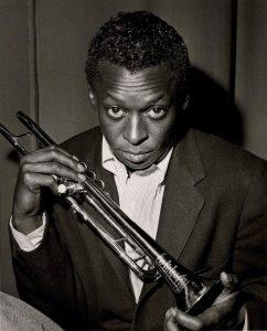 Miles Davis par Herman Leonard