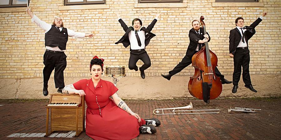 ניו אורלינס שלי Davina & The Vagabonds
